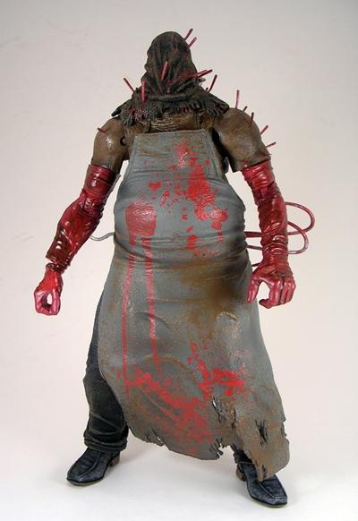 Resident Evil 5: Executioner Majini by NECA   FigureFan Zero Executioner Majini