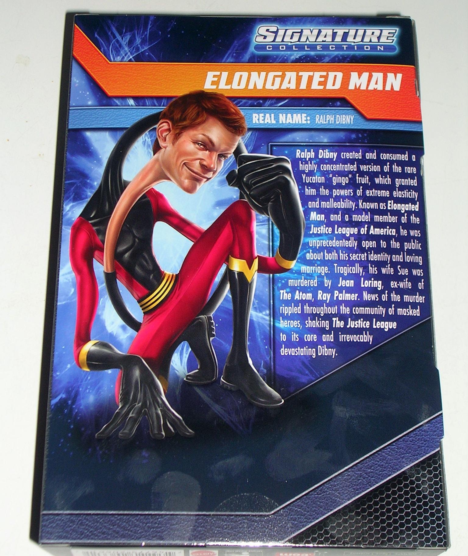 Dc Universe Signature Collection Elongated Man By Mattel