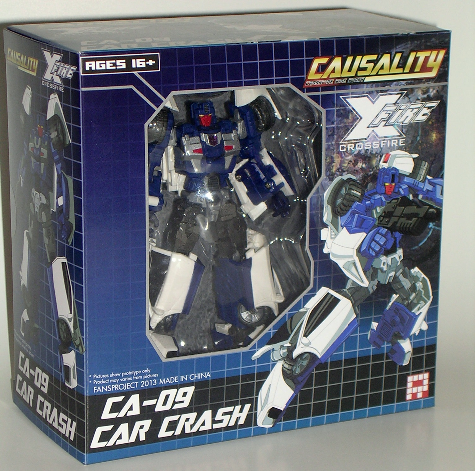 Causality: CA-09 Car Crash By Fansproject