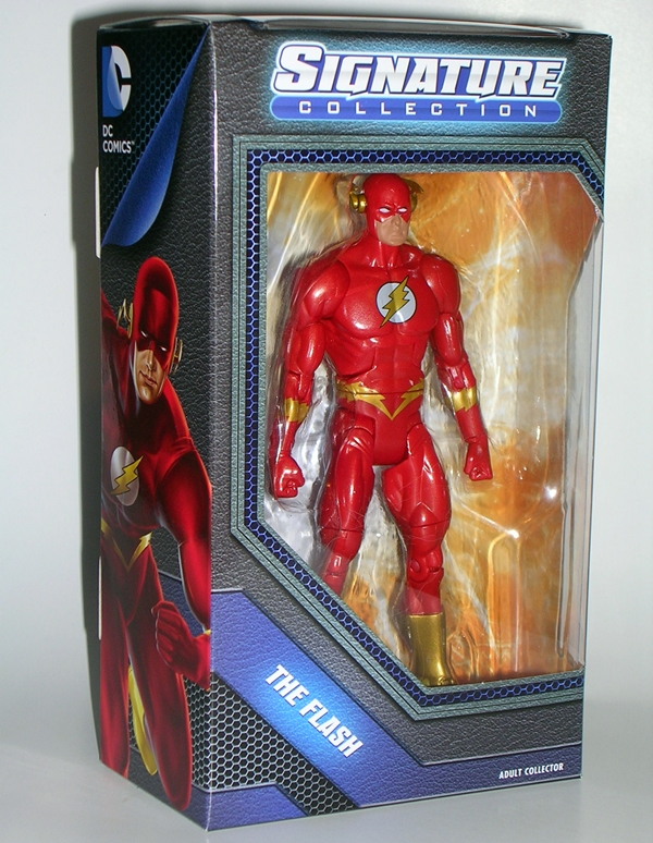 DC Comics Signature Collection Wally West The Flash Figure DaGYVo
