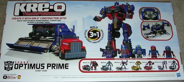 kre o transformers optimus prime instructions 78 pieces