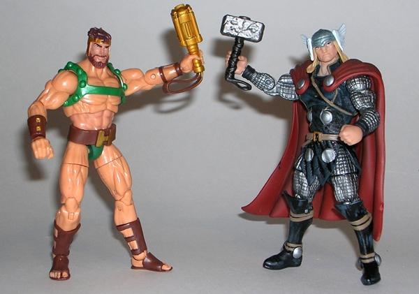 Toys For Hercules : Marvel universe hercules by hasbro figurefan zero