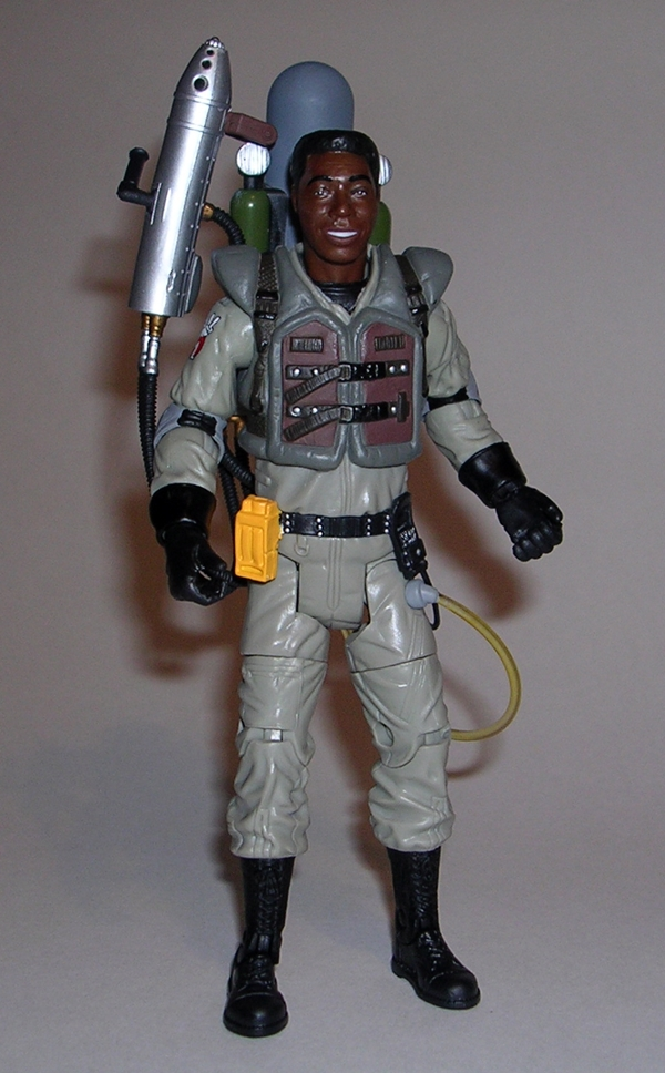 Ghostbusters 2 Winston Zeddemore With Slime Blower By