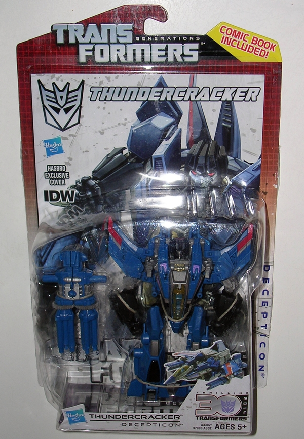 Transformers Generations THUNDERCRACKER 30th Anniversary COMIC BOOK Part