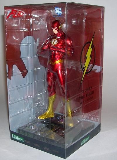 "Statue Kotobukiya The Flash New 52 /""DC Comics/"" ArtFX"