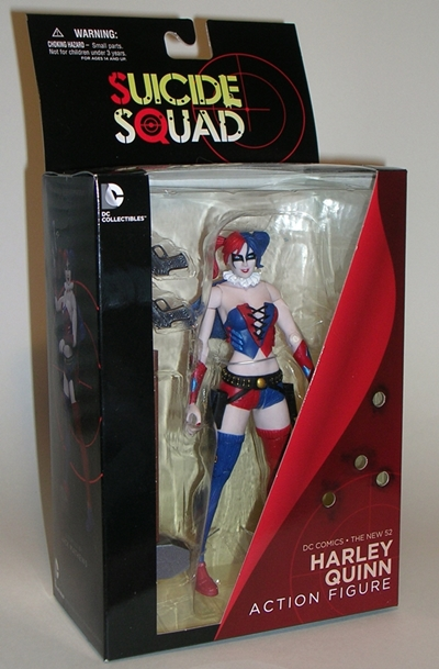 DC Comics SUICIDE SQUAD 6/'/' HARLEY QUINN DC Collectibles New Loose