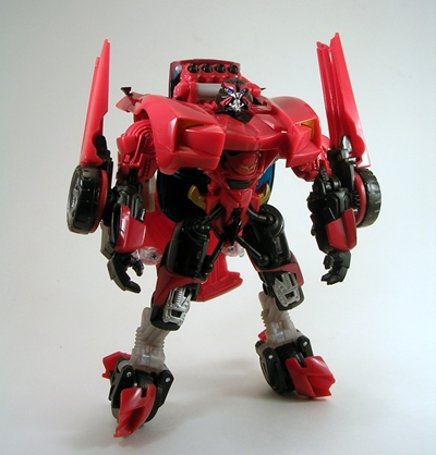 Transformers Revenge of the Fallen Swerve complet ROTF Deluxe W Manuel