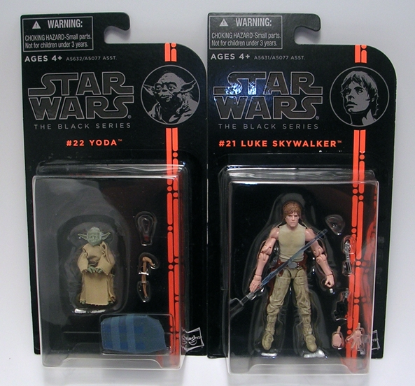 Star Wars The Black Series #21 Luke Skywalker Dagobah Jedi Training Figure Empire Strikes Back