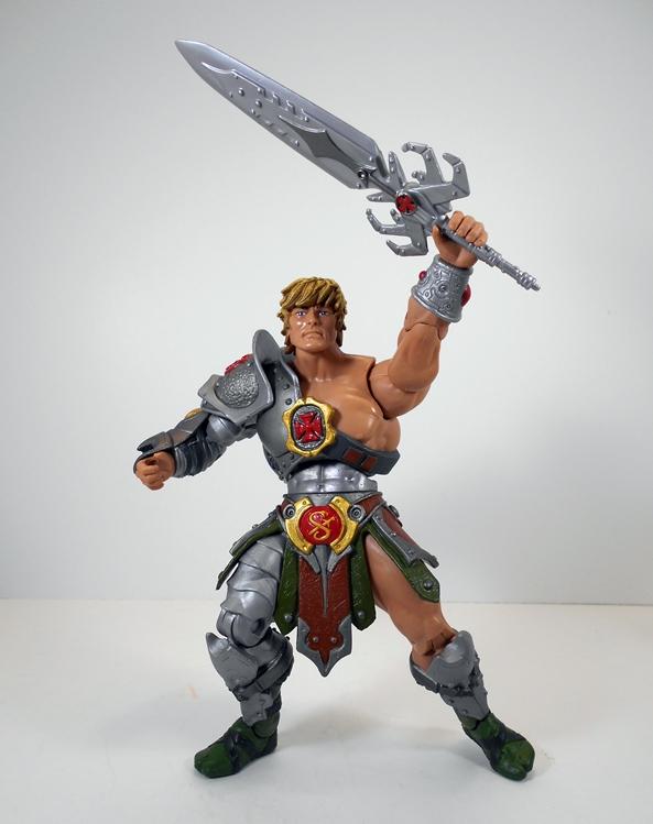 Large épée Weapons Pak He-man Masters of the Universe MOTU Arme Accessoire