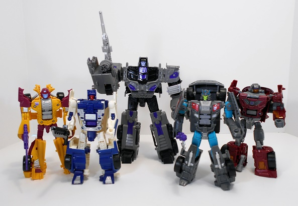 Hasbro Toys Transformers Combiner Wars Menasor 6 Pack Stunticons ...