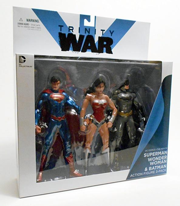 Batman 3-Pack Set DC Comics Trinity War The New 52 Superman Wonder Woman