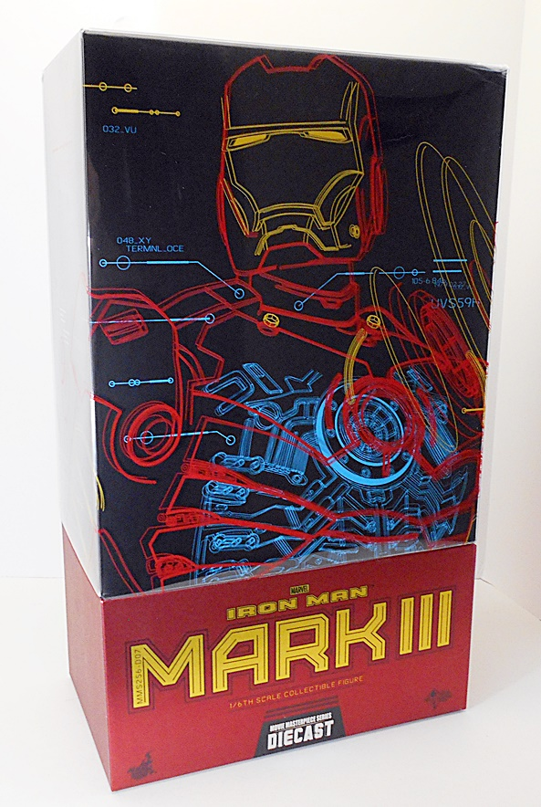 Hot Toys Iron Man 2 MARK VI Figure 1//6 NECK WRAP