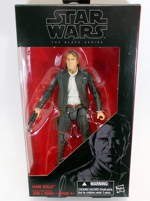 "Star Wars Black Series Han Solo TFA Force Awakens # 18 Hasbro 6/"" Action Figure"
