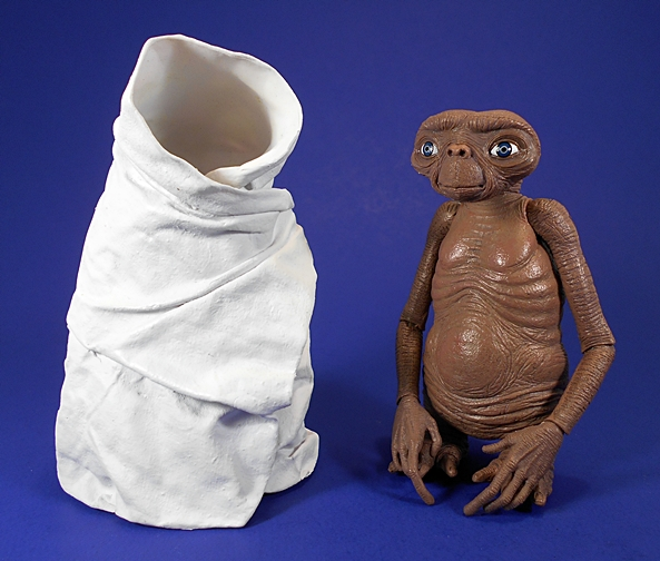 "figure NIGHT FLIGHT the EXTRA-TERRESTRIAL et alien NECA series 2 2012 5/"" E.T"
