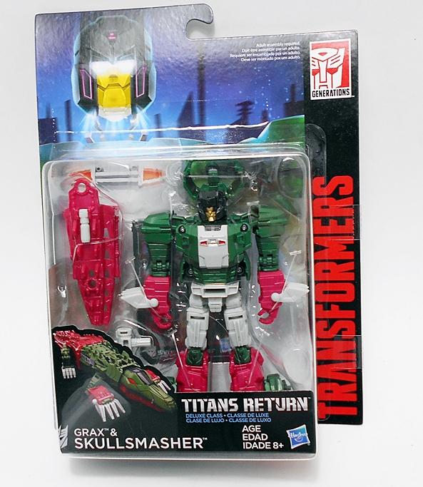 Transformers Titans Return Skullsmasher /& Grax DLX Class New Sealed