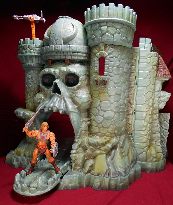 Masters Of The Universe Classics Castle Grayskull By Mattel Part 2