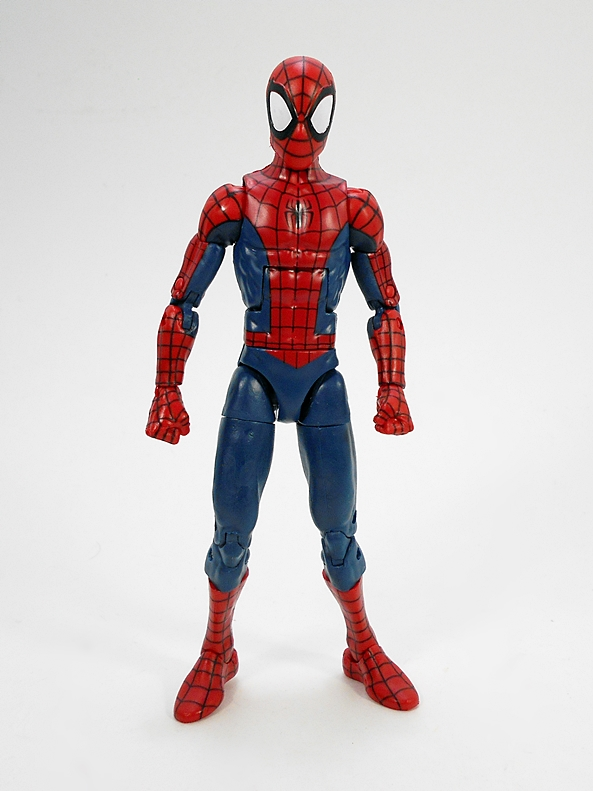 """Marvel Legends 6/"""" Inch Space Venom BAF Wave Peter Spider-Man Loose Complete"""