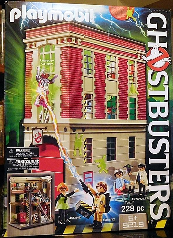 Playmobil Ghostbusters Firehouse 9219 Figurefan Zero