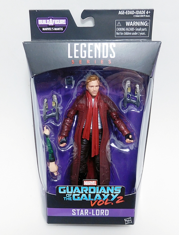 Marvel Legends Guardians Of The Galaxy Vol.2 Titus Series Set Of Seven Action Fi