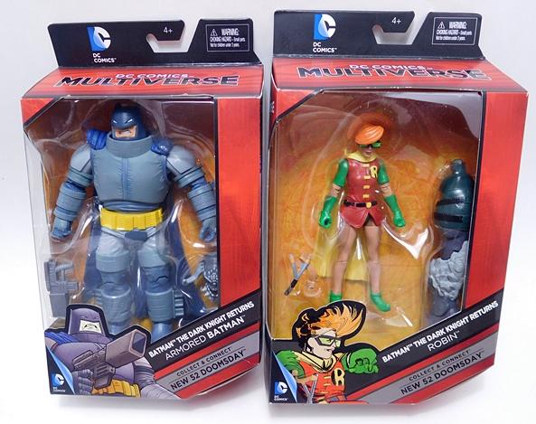 New DC Comics Multiverse Robin The Dark Knight Returns Doomsday Action Figure
