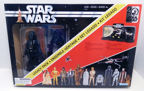 Figurine star wars 40th Anniversary Display Stand and Background Backdrop