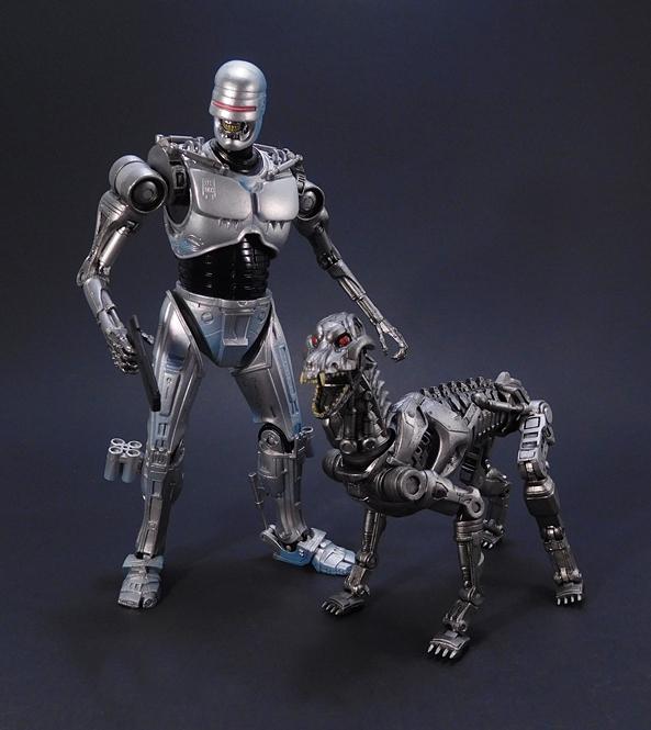 Robocop VS The Terminator endocop /& Terminator Dog Two-Pack