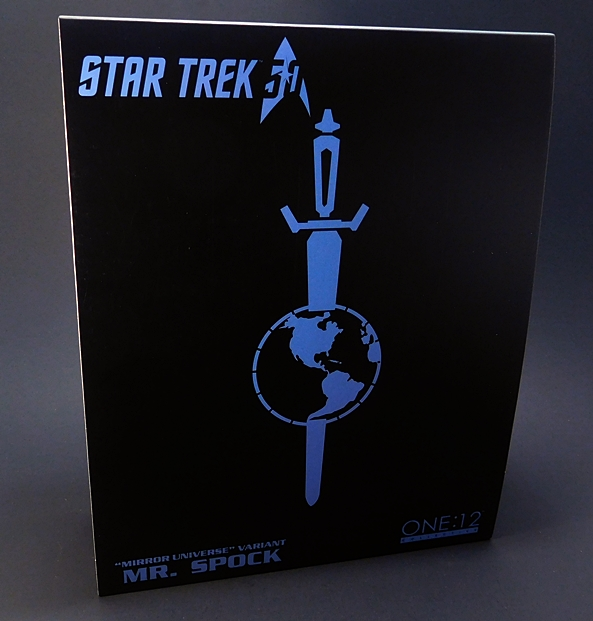 "Star Trek (One 12 Collective) ""Mirror Universe"" Mr. Spock by Mezco 00adb06ce"