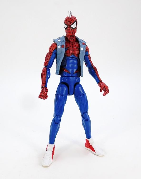 """Marvel Legends 6/"""" Inch Lizard BAF Wave Spider-Man Spider-Punk Loose Complete"""