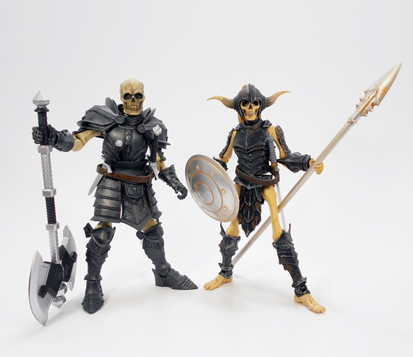 MYTHIC LEGIONS ADVENT OF DECAY SKELETON SOLDIER BUILDER new
