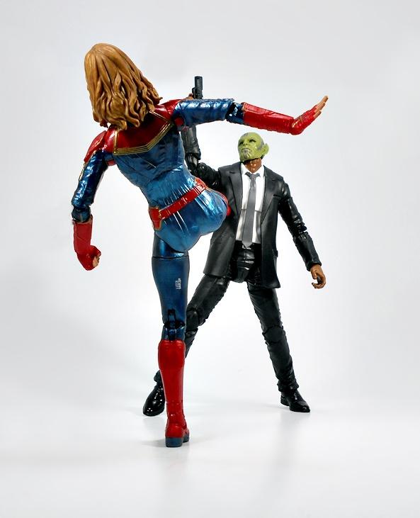 """* No BAF * Marvel légendes la chose 6/"""" Super Skrull BAF Ample"""