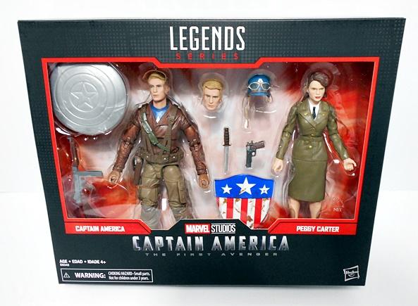 Sharon Carter Agents of Shield 6 inch Figure Red Skull Marvel Legends Boy Age 4+