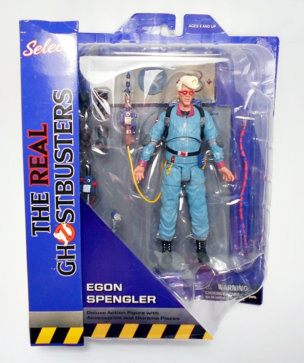 The Real Ghostbusters ~ EGON SPENGLER Action Figure ~ DST Diamond Select