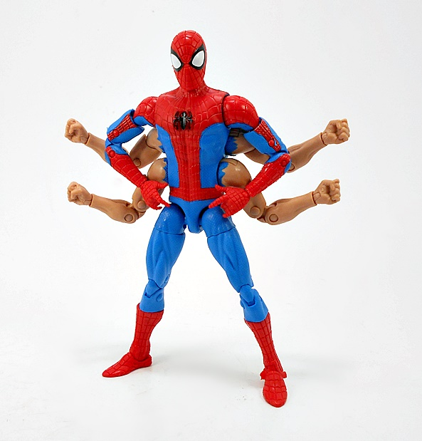 Marvel Legends Torso Kingpin action figure BAF series parts lot spiderman