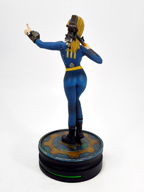 "Chronicle Collection Moderne icônes Fallout Vault Girl 9/"" Statue Think Geek"