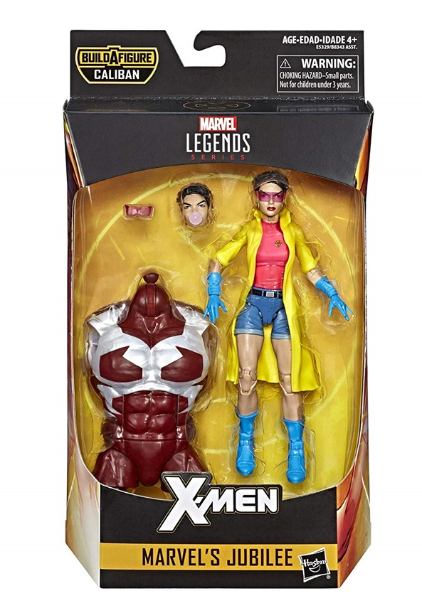 Marvel Legends 2019 X-MEN JUBILEE FIGURE Loose 6 Inch Jim Lee Caliban Wave