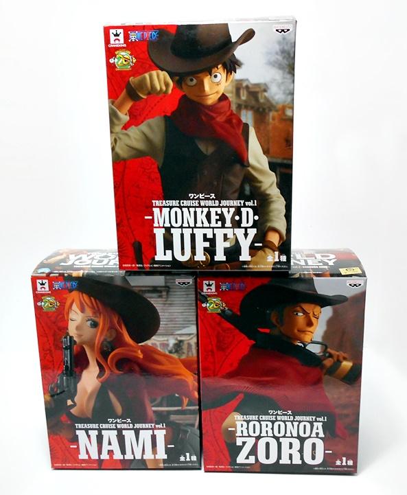 Banpresto Prize One Piece Treasure Cruise World Journey Vol 1 Figure Nami Pirate